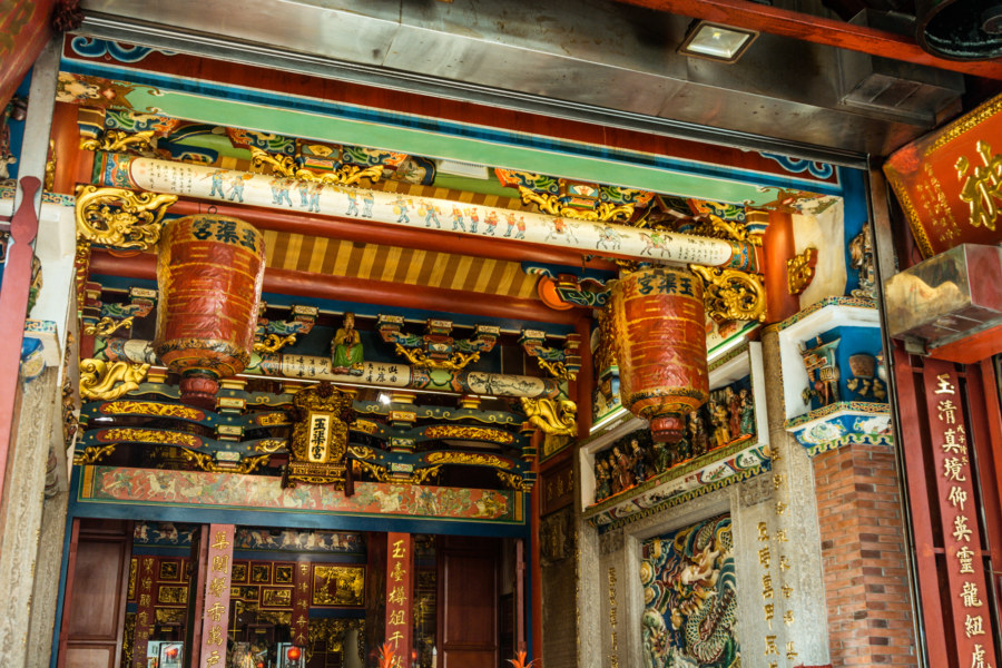 A closer look at Yuqu Temple in Lukang