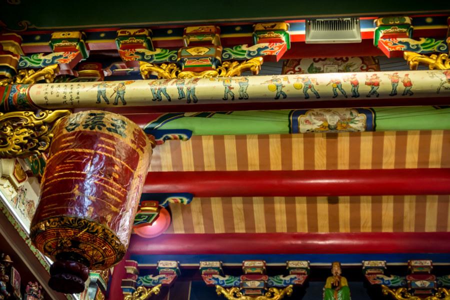 Hidden near the top of Yuqu Temple