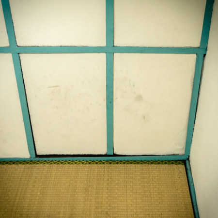 A secret door in the Chenggong Hostel