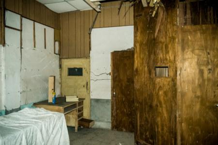 The x-ray room inside Yuanlin Hospital