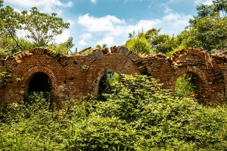 A Climbing Brick Kiln in Chiayi