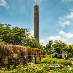 A Brick Kiln in the Backyard