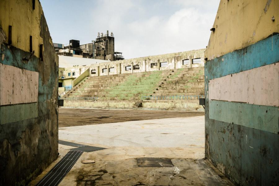 Peering into the former Hsinchu City Activity Center