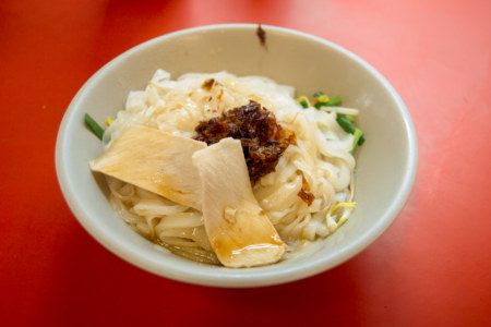 Rice noodles in Meinong