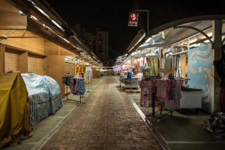 More empty rows at Jinzuan Night Market
