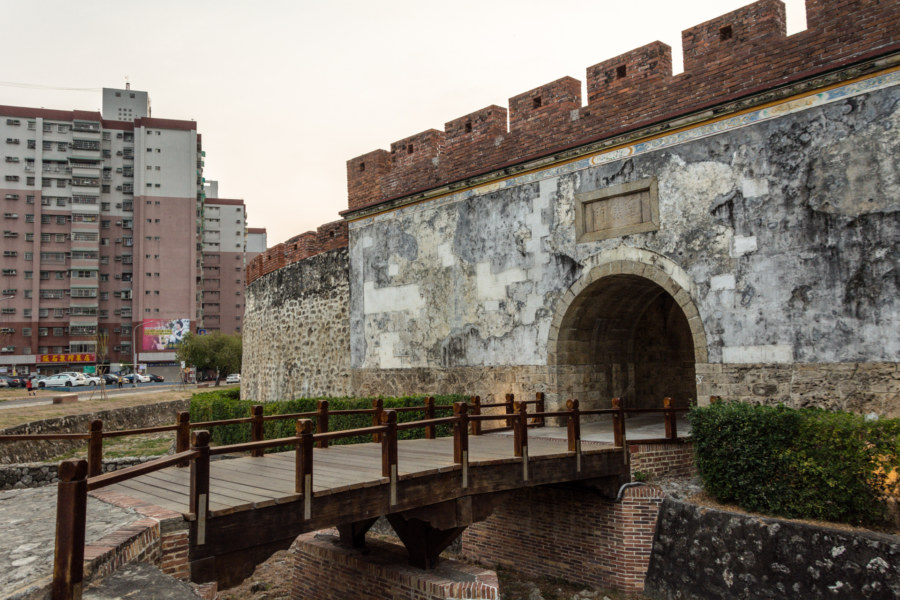 Entrance to the walled city of Zuoying