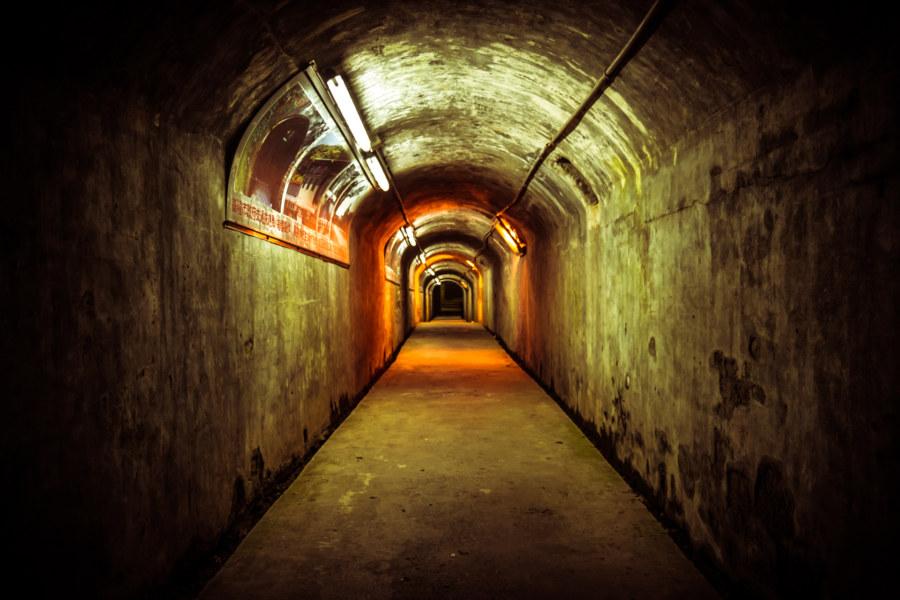 A secret passageway in Keelung