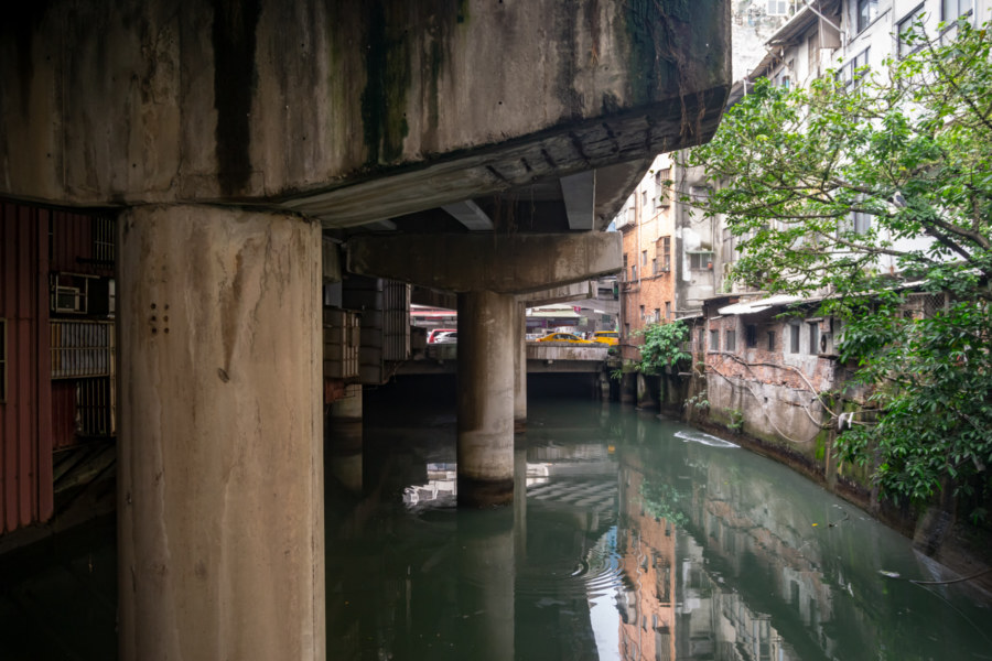 A Disappearing River in Keelung