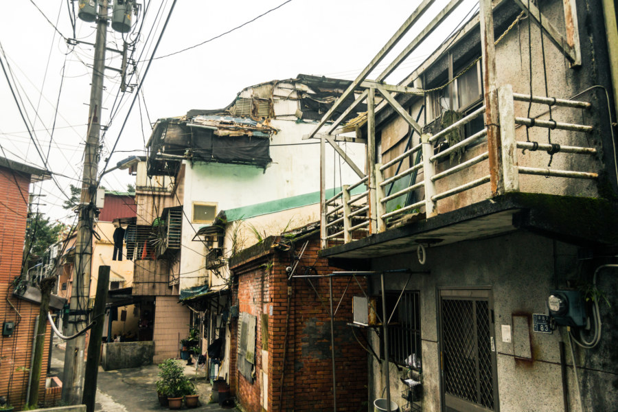 Coming down out of Ruchuan Village 入船里