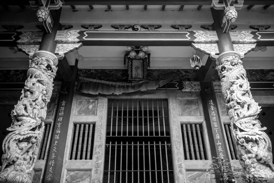 The former Lingxiao Temple 凌霄殿