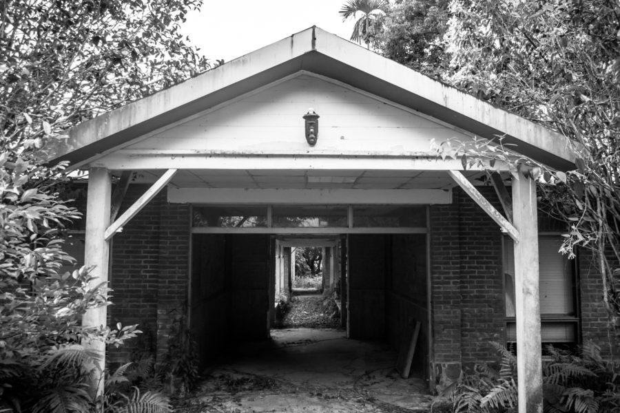 Entrance to the Puli Sanatorium 埔里肺病療養院