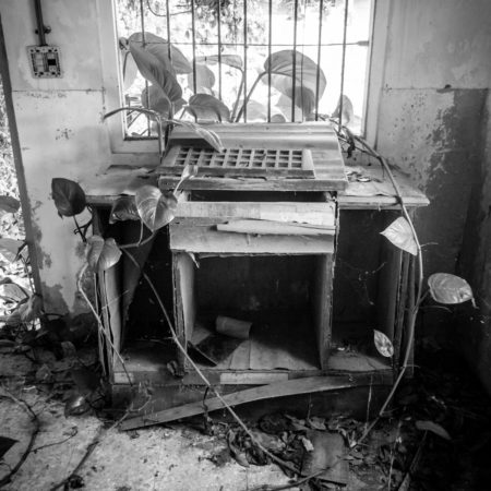 Abandoned Podium