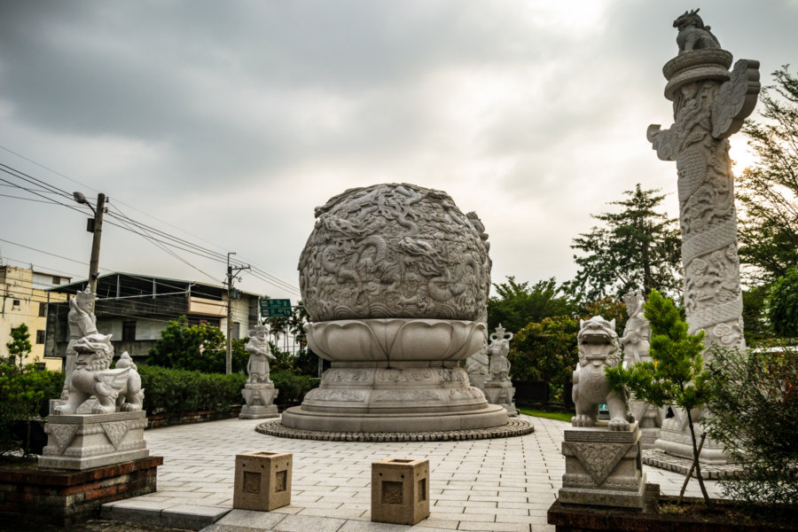 Stone Garden Outside Yuhuang Temple 玉皇宮