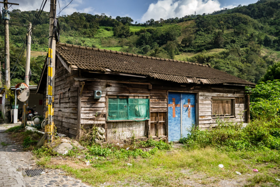 Abandoned Home in Songlin Village