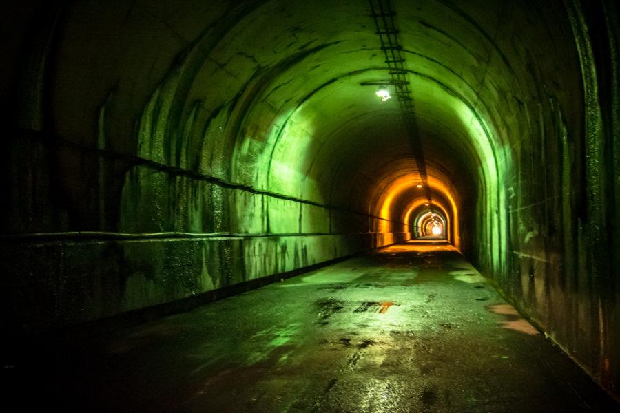 Traversing Zhoushe Tunnel 卓社隧道