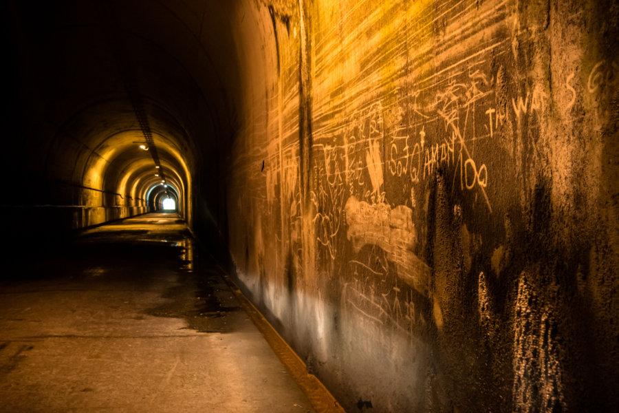 Leaving a Mark in Wujie Tunnel