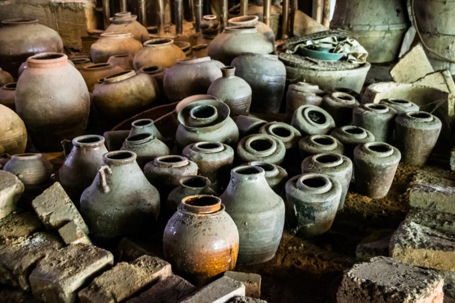 Lots of pots at the Shuili Snake Kiln 水里蛇窯