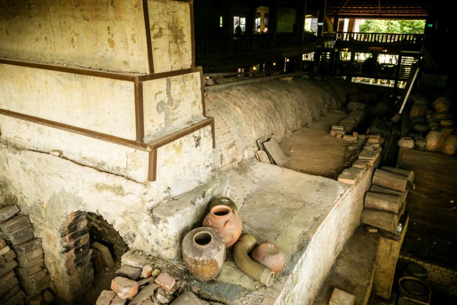 The far end of the Shuili Snake Kiln 水里蛇窯