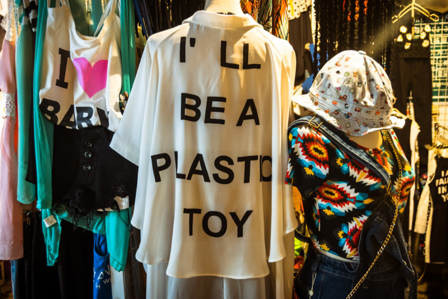 I'll be a plastic toy