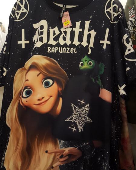 Death Rapunzel