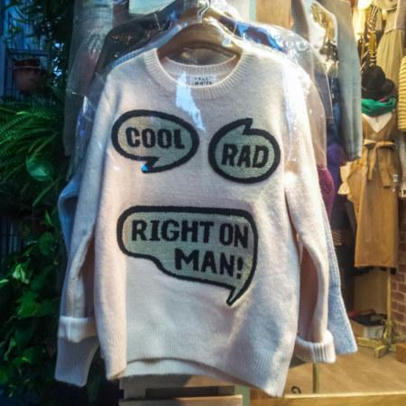 Cool, rad, right on man!