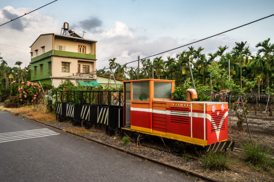 Sugar rails train in rural Pingtung