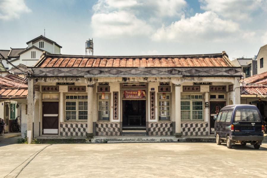 An archaic house in Zhutian Township, Pingtung