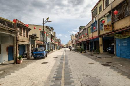 Main street, Fenggang, Pingtung
