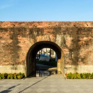 Hengchun's Eastern Gate at sunset