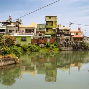 The river running through Fangliao