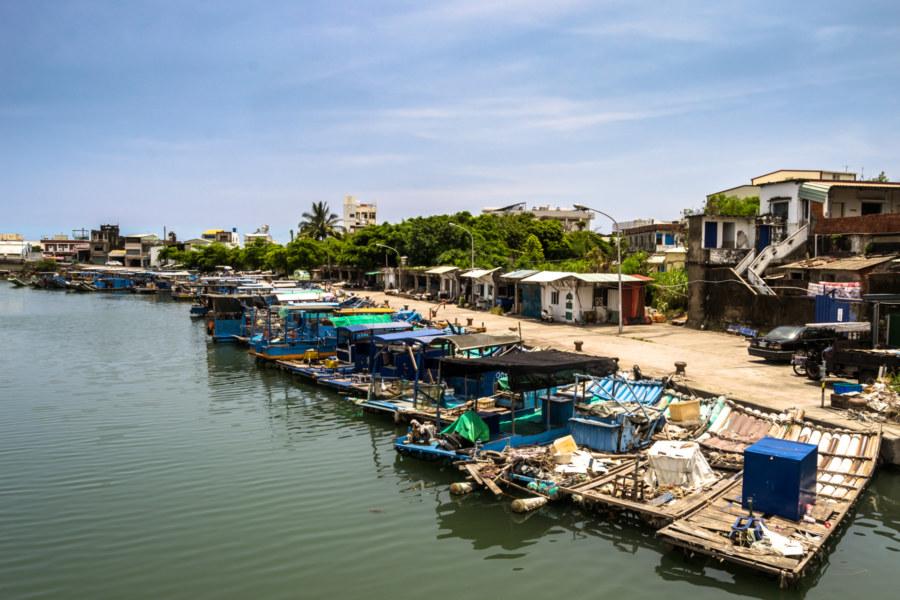 Fangliao fishing harbour