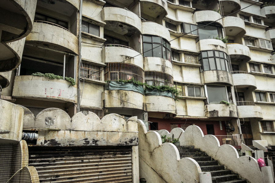 Living in the ruins of Harbour City