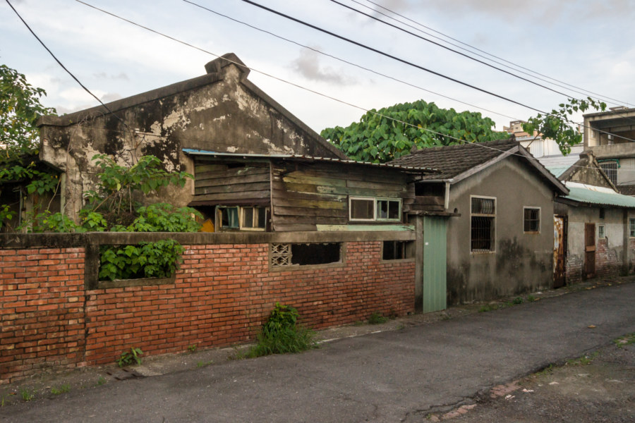 Old abandoned homes in Fengshan