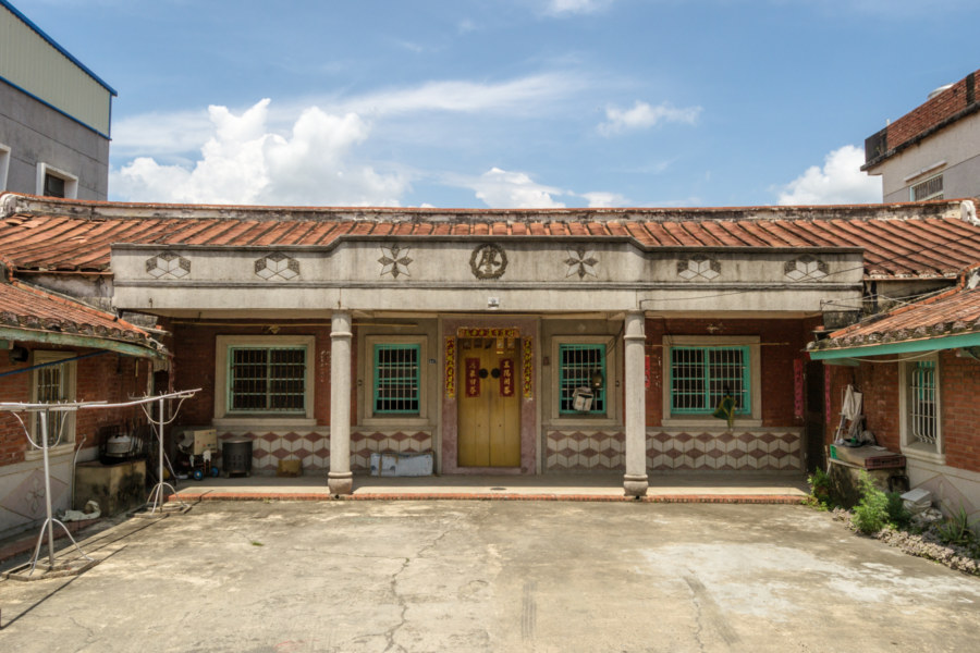 Liao 廖 family home in Alian District
