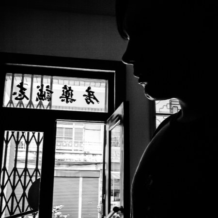 A quick self-portrait in Pingtung City