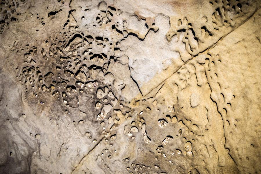 Coastal rockforms near Nanren