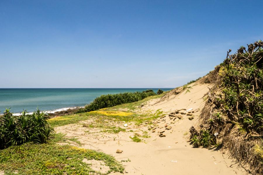 A modest sand dune off Nanren Road