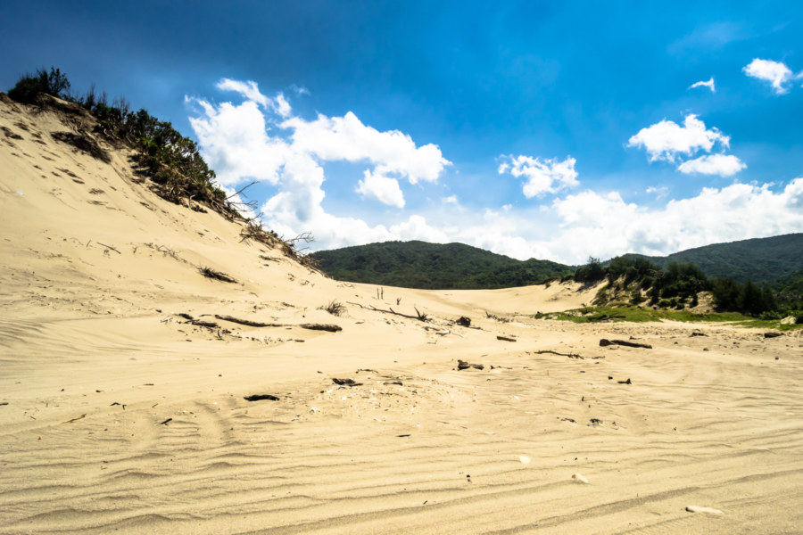 The dunescapes of far eastern Pingtung