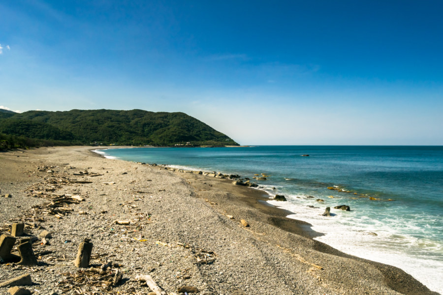 The remote eastern shore of Pingtung
