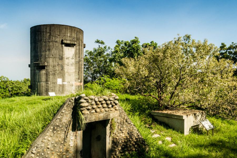 Dadu Plateau Anti-Airborne Fort #4 大肚台地四號反空降堡
