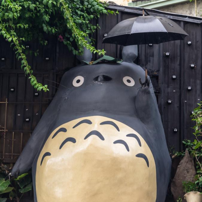 Totoro in Taichung