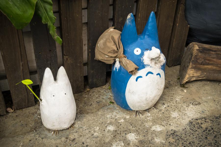 Chibi and Chu Totoro in Taichung
