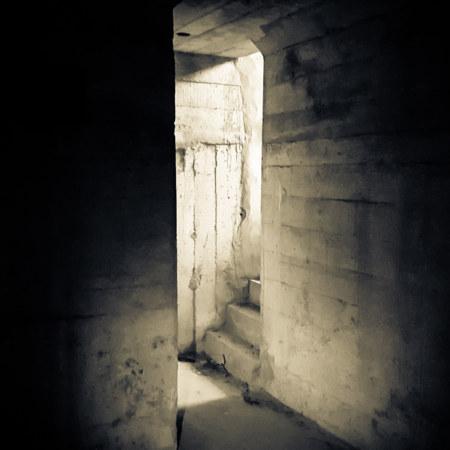 Creeping down below