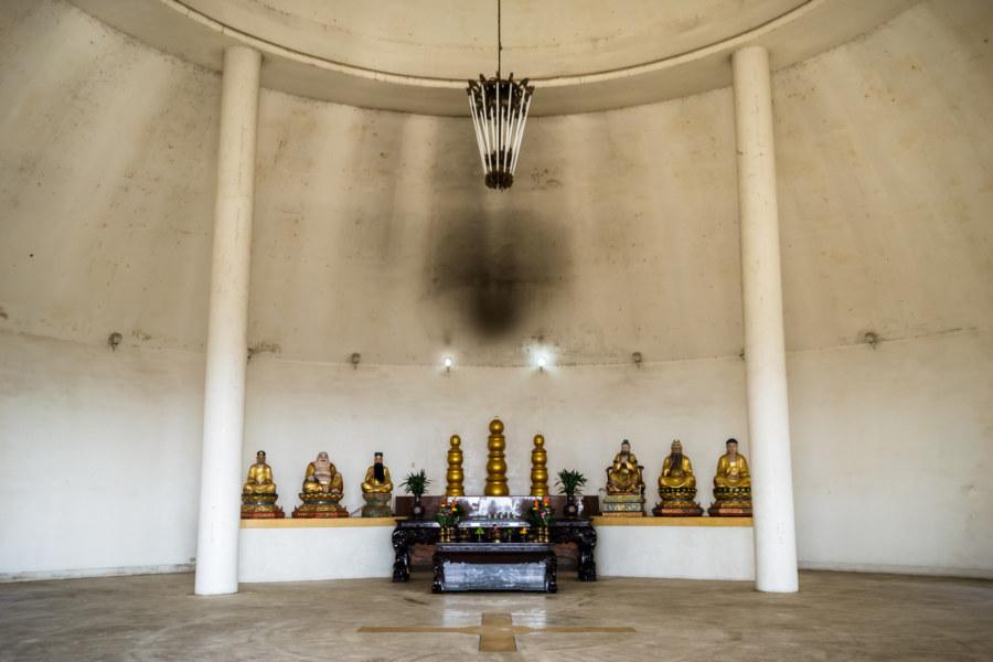 An altar to minimalism