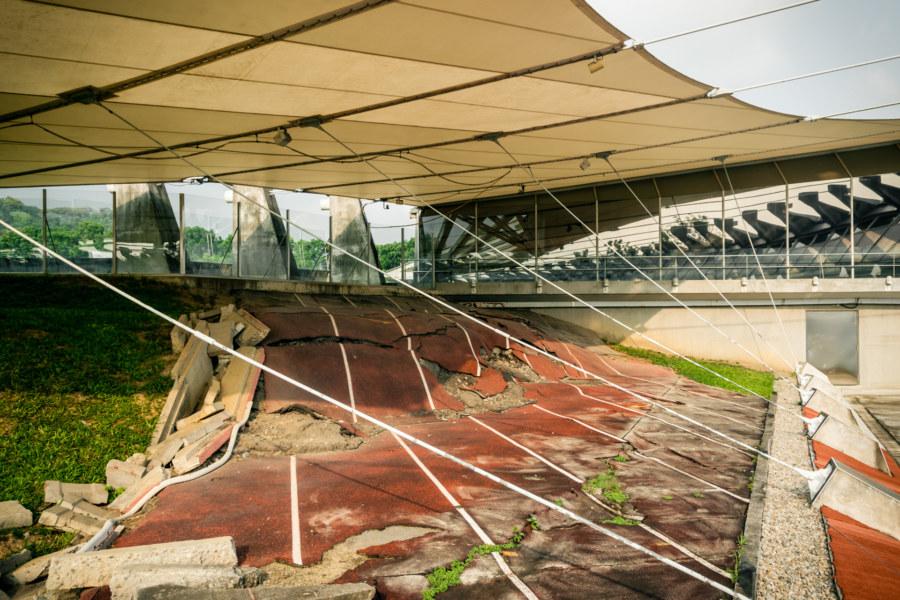 921 Earthquake damage in Wufeng