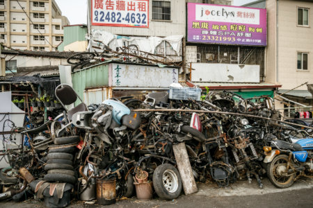 An Industry of Broken Parts in Wufeng
