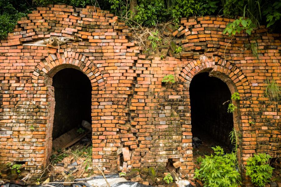 Broken Eyes of a Chiayi Brick Kiln
