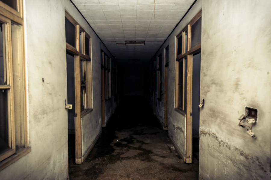 Stalking through the basement in search of the morgue