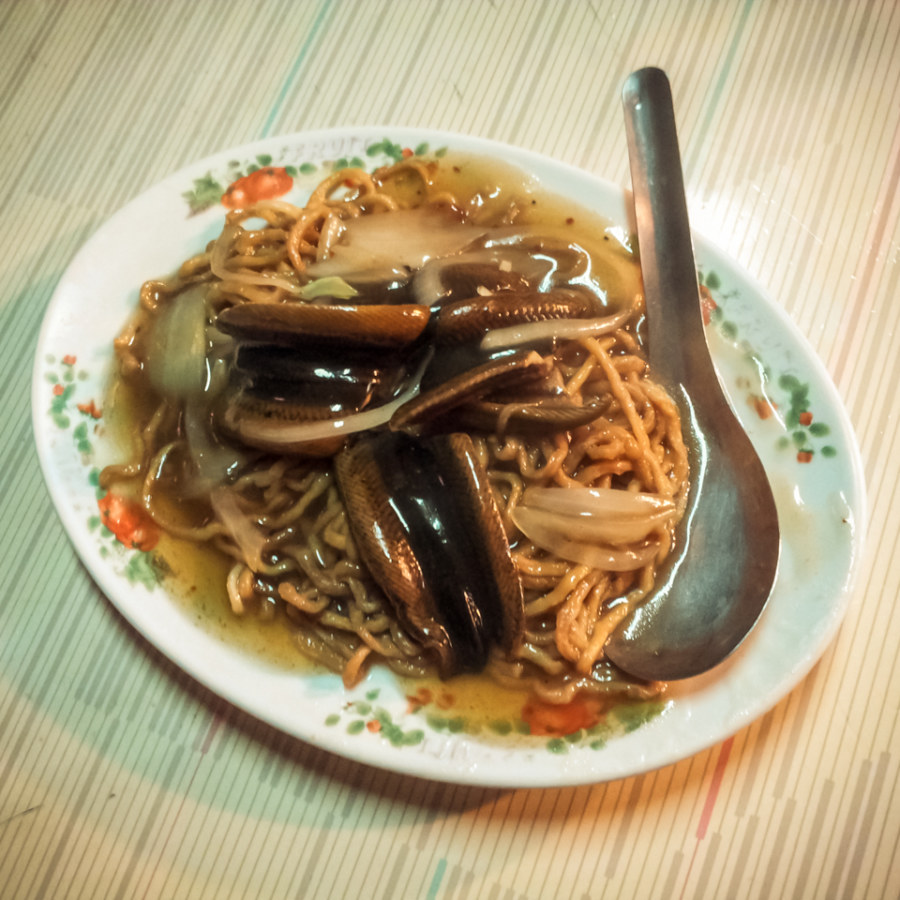 Eel noodle in Tainan