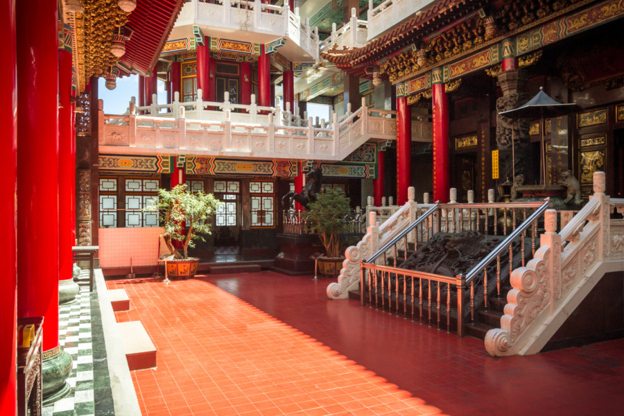 Shanxi temple main floor
